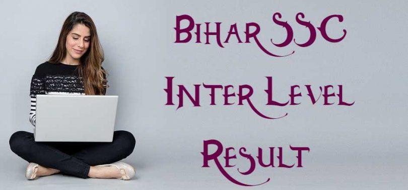 Bihar SSC Inter Level Result