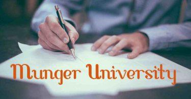 Munger-University