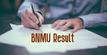 BNMU Result