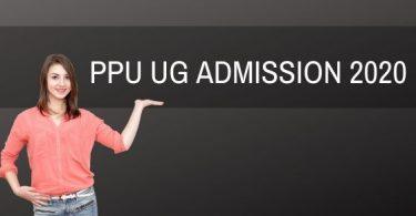 PPU UG Admission 2020
